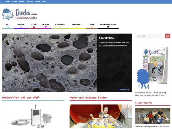 Bildschirmfoto duda.news