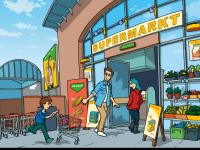 HanisauLand-Teaserbild zum Tafelbild Ernährung