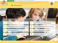 """Startseite des Lernmoduls """"Viren und andere Computerkrankheiten"""""""