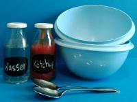 Verhält sich Ketchup ähnlich zu Wasser?