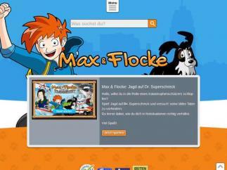 Bildschirmfoto Max-und-Flocke-Helferland