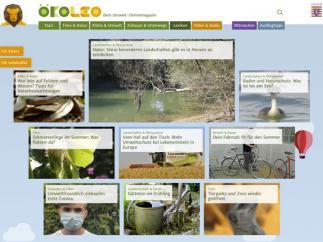 Bildschirmfoto ÖkoLeo