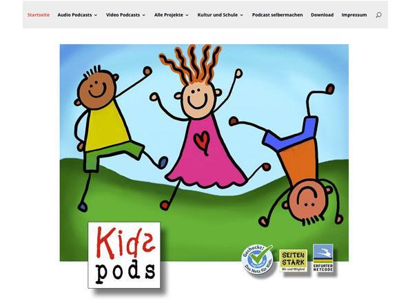 Bildschirmfoto Kidspods