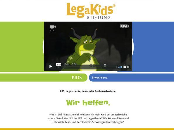 Bildschirmfoto LegaKids