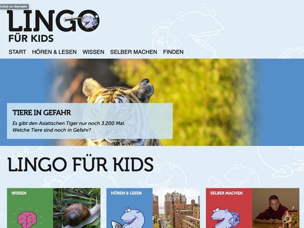 Bildschirmfoto Lingonetz