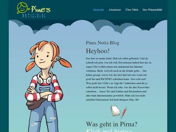 Bildschirmfoto Pine Pirna