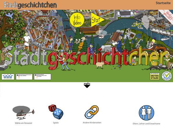 Bildschirmfoto Stadtgeschichtchen