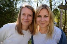 Nicole und Carolin von frieden-fragen.de