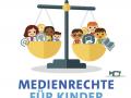 Medienrechte für Kinder - Cover der Broschüre SWR